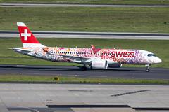 HB-JCA Swiss Airbus A220-300 (CSeries CS300) (buchroeder.paul) Tags: eddl dus dusseldorf düsseldorf international airport germany europe ground hbjca swiss airbus a220300 cseries cs300