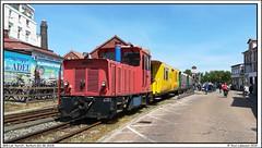 BKB Lok Aurich, Borkum (01-06-2019) (Teun Lukassen) Tags: borkum kleinbahn bkb aurich berlin westfalendampf treinen trains züge