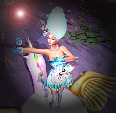LuceMia - Swank Event (2018 SAFAS AWARD WINNER - Favorite Blogger -) Tags: swankevent event fantasy candy outfit scripted cotton irrisistible sl secondlife mesh fashion creations blog beauty hud colors models lucemia