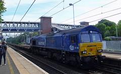 UK class 66 (onewayticket) Tags: diesel railway trains transport locomotive loco dbcargouk freight