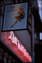 Doll in High Heels (Lilywhites2009) Tags: planar5014 contaxaria kodake100g