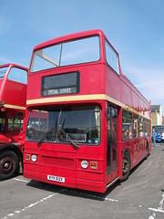 KYV 512X (Ray's Photo Collection) Tags: titan leyland hernebay opentop londonbuscompany kyv512x bus kent rally williamstreet carpark lt londontransport