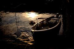 Sunset (TransientEye) Tags: leica leicam10 leica35mmsummiluxasphfle rangefinder italy italia review lagodicomo bellano sunset boat