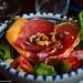 salade à l'italienne jambon/melon.