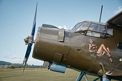 Antonow An-2 (Thomas Minnich) Tags: flugplatzkerb gelnhausen aeroclub antonov an2 oldtimer flugzeug plane doppeldecker deutshcland