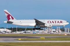 Qatar Airways Cargo Boeing 777F | Milano - Malpensa (MXP-LIMC) | 31st May 2019 (Brando Magnani) Tags: