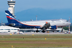 Aeroflot Airbus A320-200 VQ-BCN | Milano - Malpensa (MXP-LIMC) | 31st May 2019 (Brando Magnani) Tags: