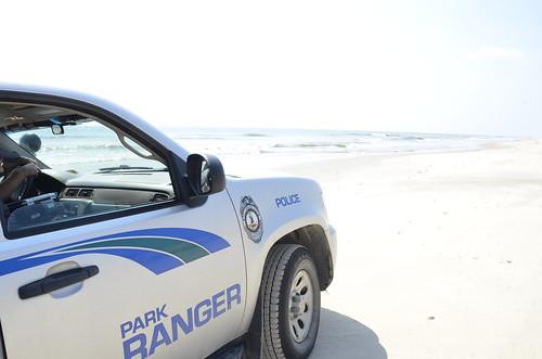 Ranger rig at False Cape State Park