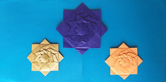 Vanessa Payome's Weaved Squares (georigami) Tags: origami papiroflexia papel paper