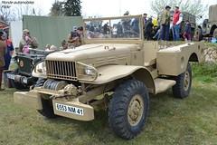Dodge WC 52 (Monde-Auto Passion Photos) Tags: voiture vehicule auto automobile dodge wc wc52 armée militaire rassemblement france courtenay