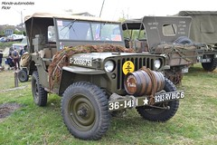Jeep Willy (Monde-Auto Passion Photos) Tags: voiture vehicule auto automobile jeep willy armée militaire 4x4 ancienne classique légende collection rassemblement france courtenay