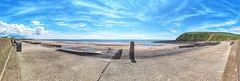 161/365 St Bees Panoramic (Charlie Little) Tags: cumbria seascape solwaycoast solwayfirth coast cameraphone mobilephotography leica p365 project365 panorama panoramic
