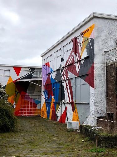 Mural - Kempkensweg Heerlen