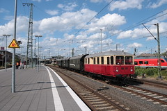 Eisenbahntradition VT03 te Munster HBF (vos.nathan) Tags: eisenbahntradition lengerich twe teutoburger wald eisenbahn munster hbf hauptbahnhof vt03