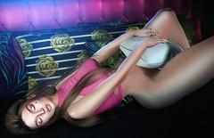 Dusk Till Dawn (Danielle Livadi) Tags: photoshop 3d photo brave nude top darkfire style fashion event bento mesh daniellelivadi danielle secondlife sensual sexy dusktilldawn dawn dusk alone night bed foxcity amitie exile lelutka