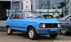 Citroën LN 1977 (XBXG) Tags: 93tn51 citroën ln 1977 citroënln blue bleu 100jaarcitroën 2019 citroëndealer autopalace marconistraat zwolle overijssel nederland holland netherlands paysbas vintage old classic french car auto automobile voiture ancienne française france frankrijk vehicle outdoor