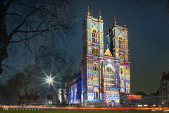 The Light of the Spirit by Patrice Warrener (Michiyo Photo) Tags: westminster abbey westminsterabbey london city central lumiere light lighting cathedral england britain british unitedkingdom event festival festive rainbow colourful unique spirit patricewarrener