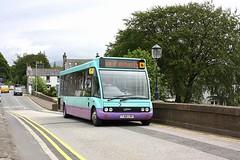 Creebridge Newton Stewart (Chris Baines) Tags: stagecoach west scotland ex james king optare solo yj60 lrv working minnigaff isle whithorn 415