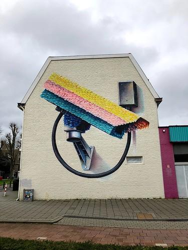 Mural - Spoorsingel Heerlen