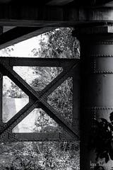 Parque lineal del Manzanres (profesorxproyect) Tags: d7100 nikon byn blackandwhite blancoynegro bw bn madrid spain streetphotography callejera ciudad city manzanares simetria simetry fuga 55300