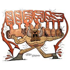 ОСТАВАЙСЯ СИЛЬНЫМ | STAY STRONG (Misha Cvet) Tags: 1cvet mishacvet мишацвет artwork illustration digitalart art drawing artist sketch digital digitalpainting instaart draw design painting fanart digitaldrawing illustrator creative digitalartist