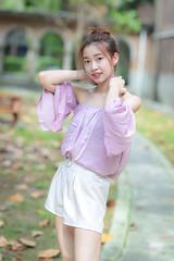 IMG_9565L (攝影玩家-明晏) Tags: èè² 人 人像 戶外 女生 女孩 pretty taiwan taipeicanon portrait outdoor girl woman