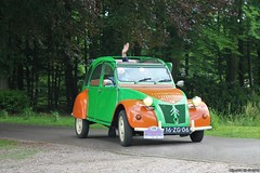 Citroën 2CV4 1978 (16-ZG-06) (MilanWH) Tags: migliadaventria citroën 2cv4 1978 2cv orange green 16zg06