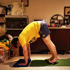 This is exact core training tool I am looking for (Alfred Life) Tags: me slider 我 健腹滑盤 exercise core home 家 運動 富宏花園 核心