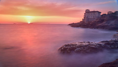 Castello del Boccale II (ndrearu) Tags: livorno toscana tuscany italy sunset hdr outside colors colour sea wave seawaves panorama landscape canon canon6d 6d stunning