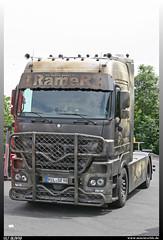 "Mercedes Benz MP 3 ""Ramer Internationale Transporte"" (uslovig) Tags: truck lorry camion camiones lkw lastwagen lastkraftwagen trucker country festival geiselwind franken franconia bavaria bayern deutschland germany mercedes benz mb mp 3 ramer internationale transporte the walking dead"