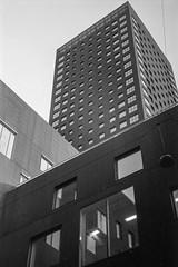 Bohrs Tårn, Carlsberg Byen (gbrammer) Tags: 35mm contaxiia sonnar5015 v800 zeissikon copenhagen delta100 film hc110 rangefinder