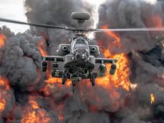 Westland Apache AH1 (WAH-64D) (Manx John) Tags: ukarmyaircorpswestlandapacheah1wah64dzj205cndu0 uk army air corps westland apache ah1 wah64d zj205 cn du039wah39 raf cosford