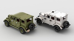 газ 61 (gaz 61) (dimkablinov) Tags: lego moc technic gaz 4x4 vehicle car retro