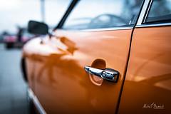 Volkswagen Karmann Ghia (Michał Banach) Tags: bułgarska nikond850 poznań poznańskieklasykinocą sigma40mmf14dghsmart volkswagen volkswagenkarmannghia automotive car cars motoryzacja oldtimer samochód stadion youngtimer