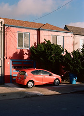 Sunset District, San Francisco, California (bior) Tags: pentax645nii pentax645 pentax 645 mediumformat 120 sanfrancisco sunsetdistrict portra160nc expiredfilm kodakportra house townhouse
