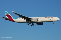 OO-SFB_A333_Eurowings_opb Brussels Airlines (LV Aircraft Photography) Tags: airliner eurowings brusselsairlines a333
