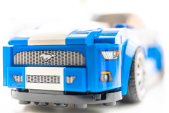 Plastic Pony (imagejon) Tags: childhoodtoys mustanggt macromondays lego