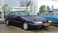Citroën XM 2.0i 1999 (XBXG) Tags: zbhz22 citroën xm 20i 1999 citroënxm blue bleu 100jaarcitroën 2019 citroëndealer autopalace marconistraat zwolle overijssel nederland holland netherlands paysbas youngtimer old french car auto automobile voiture ancienne française france frankrijk vehicle outdoor