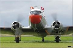 "DC-3 ""Gamle Dame"" OY-BPB (OlivierBo35) Tags: caen cfr lfrk daks over normandy dc3 dakota douglas dday skytrain"
