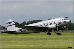 DC-3C, N877MG (OlivierBo35) Tags: caen cfr lfrk daks over normandy dc3 dakota douglas dday skytrain