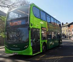 Konectbus 631 is on Castle Meadow while on route 502 to Sprowston P&R. - SN65 OAM - 1st April 2019 (Aaron Rhys Knight) Tags: 631 konectbus sn65oam 2019 castlemeadow norwich norfolk goeast goahead alexanderdennis enviro400