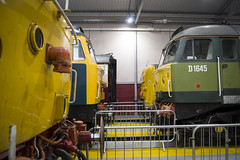 All Change (DM47744) Tags: class 47 47841 47853 47614 47830 freightliner br blue deltic napier 55022 d9000 shed depot open crewe cheshire locomotive loco train railway railways preserved diesels diesel heritage
