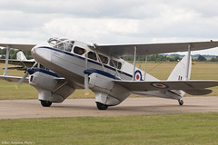 TX310 (Baz Aviation Photo's) Tags: tx310 gaidl de havilland dh89a rapide royal air force clasic duxford daks over normandy egsu qfo