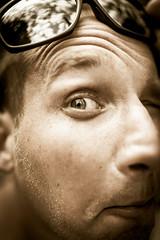 hellllooooooo?? (janetfrerichs) Tags: mai2019 mallorca urlaub valldemossa balearischeinseln spanien funny portrait nocolor entsättigt desturate nikon d800 people sigmaart 35 35mm sunglases