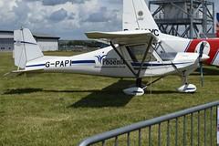 G-PAPI Ikarus Comco C-42 (graham19492000) Tags: leeonsolent gpapi ikarus comco c42