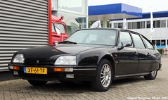 Citroën CX 25 GTI Turbo 2 1989 (XBXG) Tags: xf61tf citroën cx 25 gti turbo 2 1989 citroëncx noir black 100jaarcitroën 2019 citroëndealer autopalace marconistraat zwolle overijssel nederland holland netherlands paysbas youngtimer old classic french car auto automobile voiture ancienne française france frankrijk vehicle outdoor