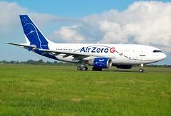 SOGERMA/NOVESPACE A310 F-WNOV (Adrian.Kissane) Tags: fwnov a310 shannon airzerog 498 1062019 shannonairport plane aircraft outdoors sky jet grass airbus aeroplane taxing