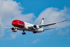 G-CKNZ Norwegian Air Boeing 787-9 Dreamliner (Lin.y.c) Tags: serxz norwegian air sweden boeing 7879 dreamliner gcknz aviation airplane ohare ord kord 787 uk