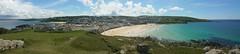St.Ives (andreboeni) Tags: stives cornwall westcornwall panorama sea view vista beach porthmeor