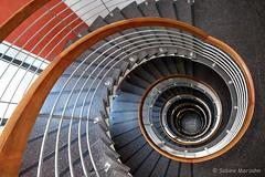 Snail Trail (Sockenhummel) Tags: treppe treppenhaus fuji steps stairwell stairway staircase architektur spirale stufen escaliers xt10